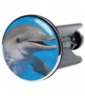 Wash Basin Plug Dolphin