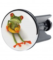 Wash Basin Plug Froggy