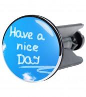 Wash Basin Plug Have a nice day