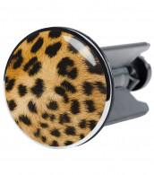 Wash Basin Plug Leopard