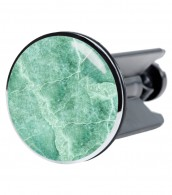 Wash Basin Plug Marble Green