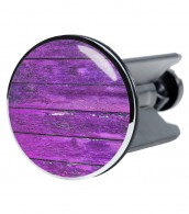 Wash Basin Plug Purple Wall