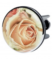 XXL Wash Basin Plug Pink Rose