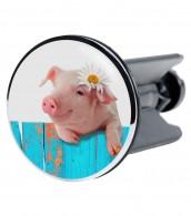 Wash Basin Plug Pig