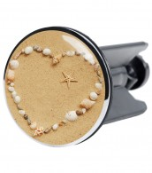 Wash Basin Plug Seashells