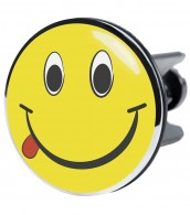 XXL Wash Basin Plug Smiley