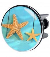 XXL Wash Basin Plug Starfish