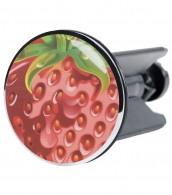 Wash Basin Plug Strawberry