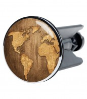 Wash Basin Plug World Map