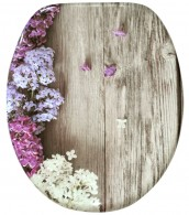 Toilet Seat Lilac