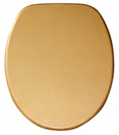 Toilet Seat Glittering Gold