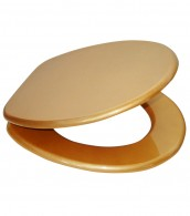 Soft Close Toilet Seat Glittering Gold