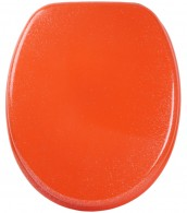 Soft Close Toilet Seat Glittering Orange