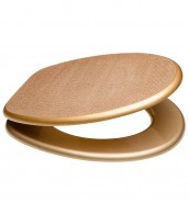 Soft Close Toilet Seat Crystal Gold
