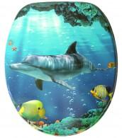 Toilet Seat Dolphin