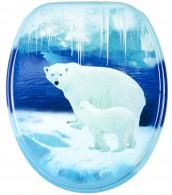 Toilet Seat Polar Bears