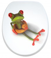 Soft Close Toilet Seat Froggy
