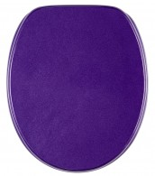 Toilet Seat Glittering Purple