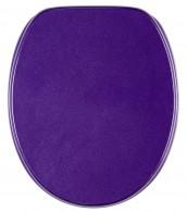 Soft Close Toilet Seat Glittering Purple