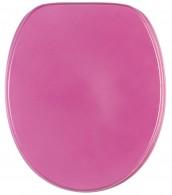 Toilet Seat Glittering Pink