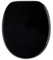 Soft Close Toilet Seat Black