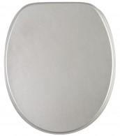 Toilet Seat Glittering Silver