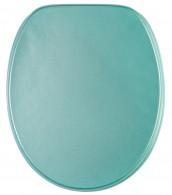 Toilet Seat Glittering Turquoise