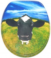 Soft Close Toilet Seat Cow