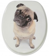 Soft Close Toilet Seat Pug