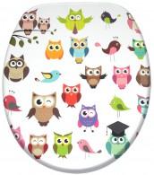 Toilet Seat Owl