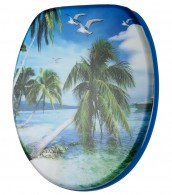 Soft Close Toilet Seat 3D-Paradise