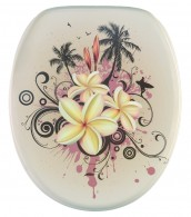 Soft Close Toilet Seat Tropical