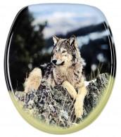Toilet Seat Wolf