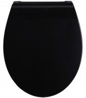 Soft Close Toilet Seat Flat Black