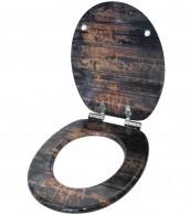 Soft Close Toilet Seat Vintage