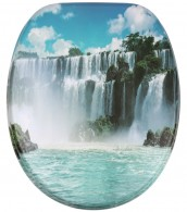 Soft Close Toilet Seat Waterfall