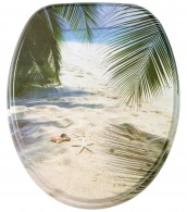 Soft Close Toilet Seat Beach