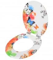 Soft Close Toilet Seat Butterfly