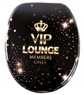Soft Close Toilet Seat VIP Lounge