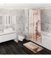 Shower Curtain Zen 180 x 180 cm
